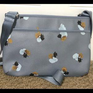 Coach Bags - Coach Crossbody Light Blue Leather Shoulder Bag